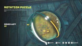 Biomutant rotation puzzles
