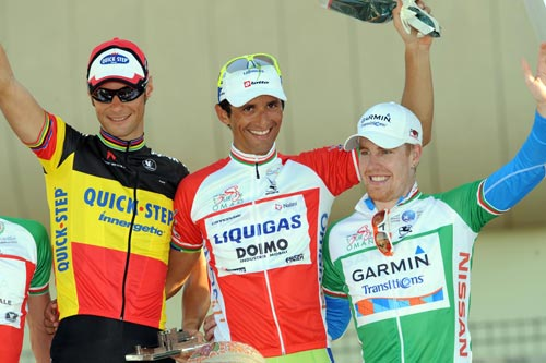Boonen, Bennati, Farrar, Tour of Oman 2010, stage five