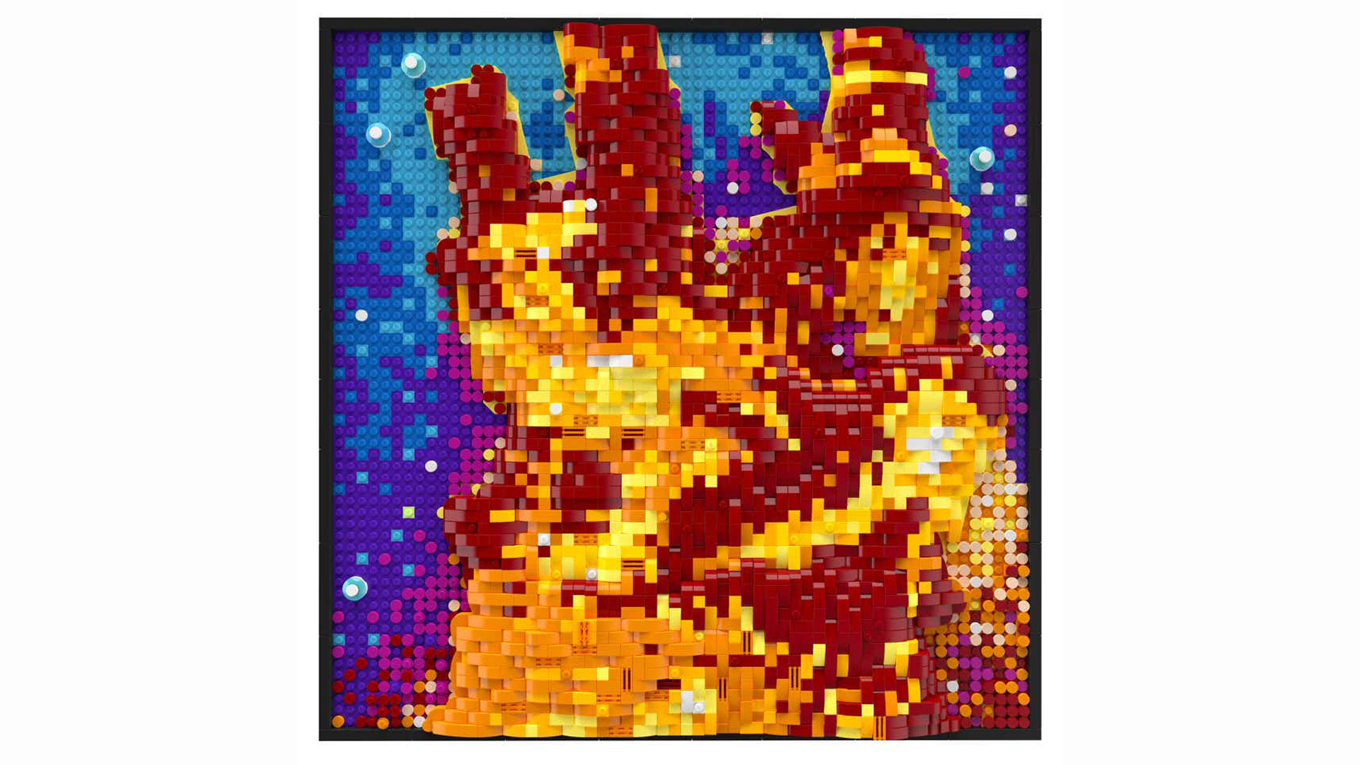 See the Hubble Space Telescope's iconic Pillars of Creation in Lego form