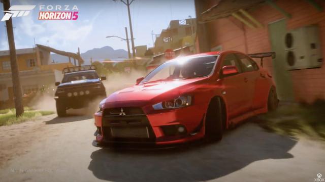 Forza Horizon 5 city racing