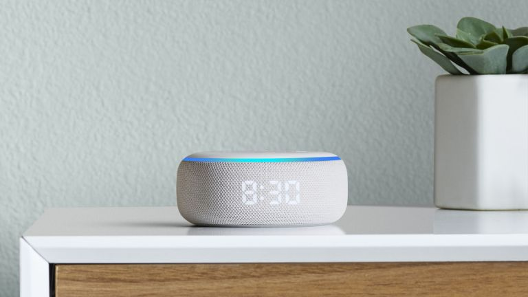 Amazon Echo Dot with Clock deals