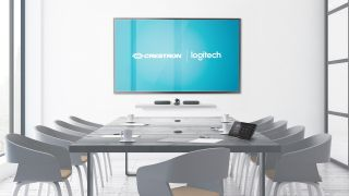 The partnership brings Logitech's conferencing devices into the Crestron ecosystem.