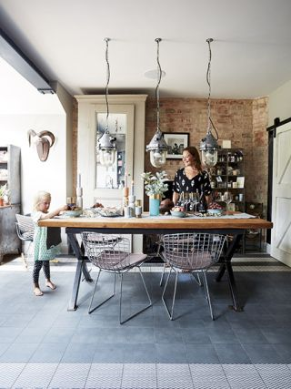 Real Home An Industrial Style Kitchen Extension To A