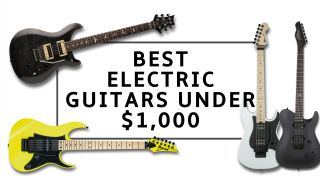 The best electric guitars under $1,000: top options for beginners and experts