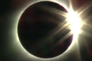 "The Exploratorium museum captured a stunning view of the ""diamond ring"" phenomenon as totality came to a close."