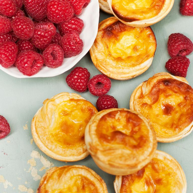 Little Custard Tarts-woman and home