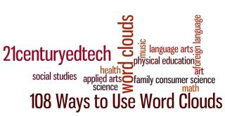 108 Ways to Use Word Clouds in the Classroom...Word Clouds in Education Series: Part 2 - Michael Gorman