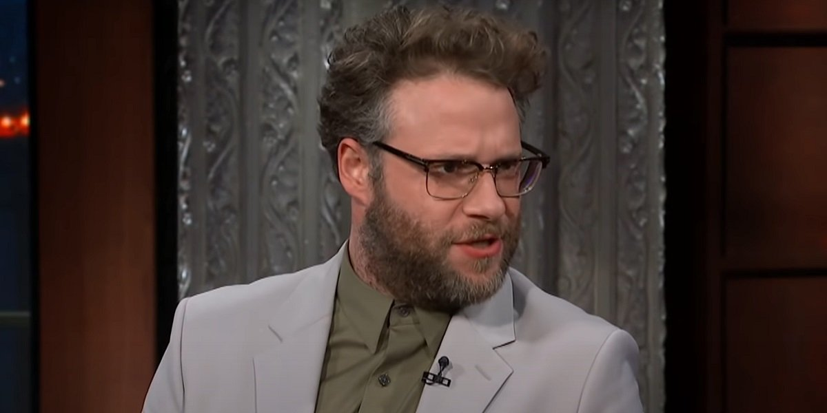 Seth Rogen The Late Show With Stephen Colbert CBS