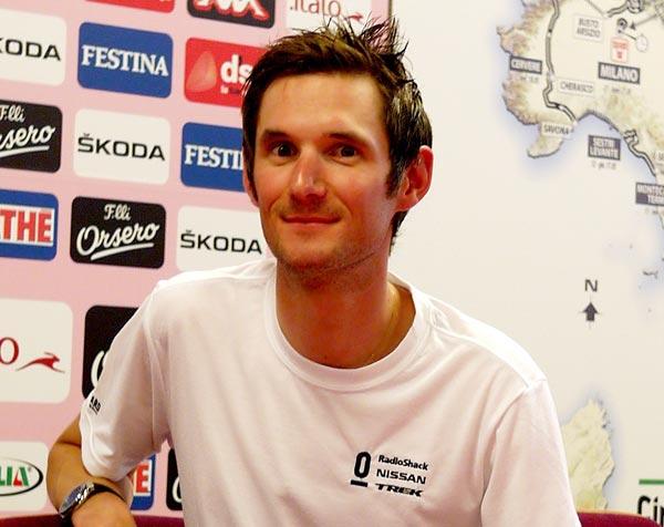 Frank Schleck, Giro d'Italia 2012
