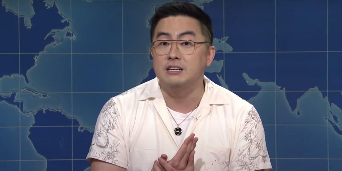 Bowen Yang as himself on Saturday Night Live
