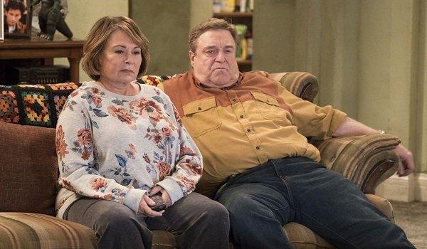 Roseanne and Dan Roseanne Barr John Goodman ABC