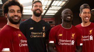 Liverpool Kit Mohamed Salah Allison Sadio Mane Roberto Firmino
