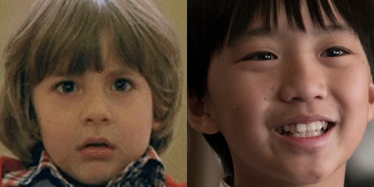 Danny Lloyd on the left, Ian Chen on the right