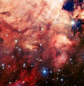 Bright Pink Nebula