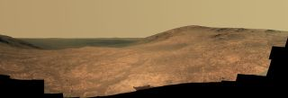 Mars Rover Opportunity's Panorama of Marathon Valley