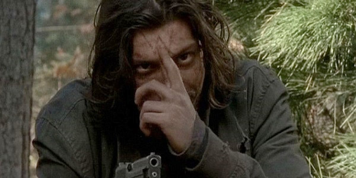 One of the Wolves in The Walking Dead Season 6.