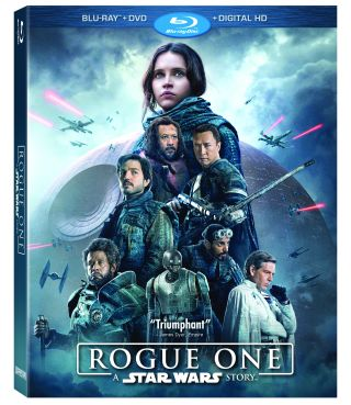 'Rogue One: A Star Wars Story' for Blu-Ray Is Here
