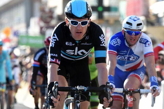 Geraint Thomas on stage four of the 2016 Paris-Nice