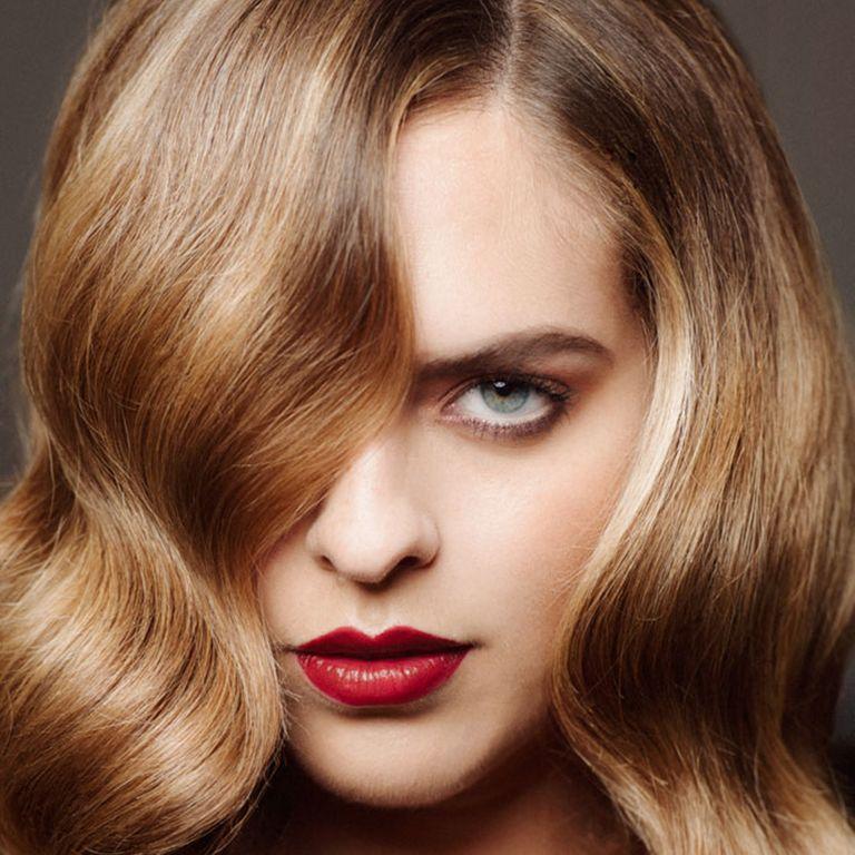 Balayage hair photo