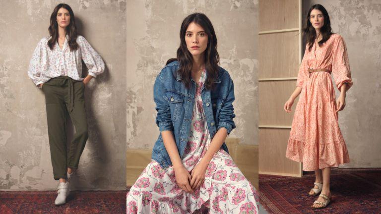 British Clothing Brands: Model wearing M&S