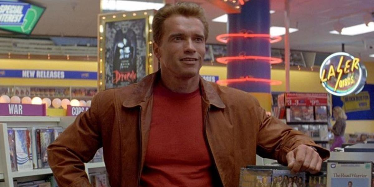 Arnold Schwarzenegger in Last Action Hero