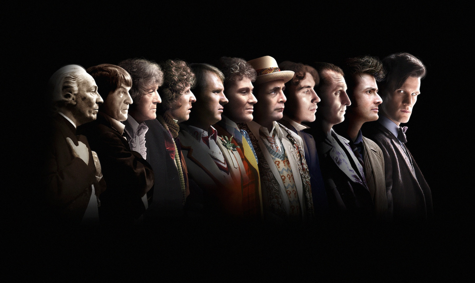 Doctor Who 50th Anniversary Special 'The Day Of The Doctor' Trailer And Excellent Photo Of All 11 Doctors #29388