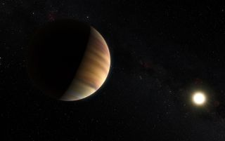 Alien Planet 51 Pegasi b