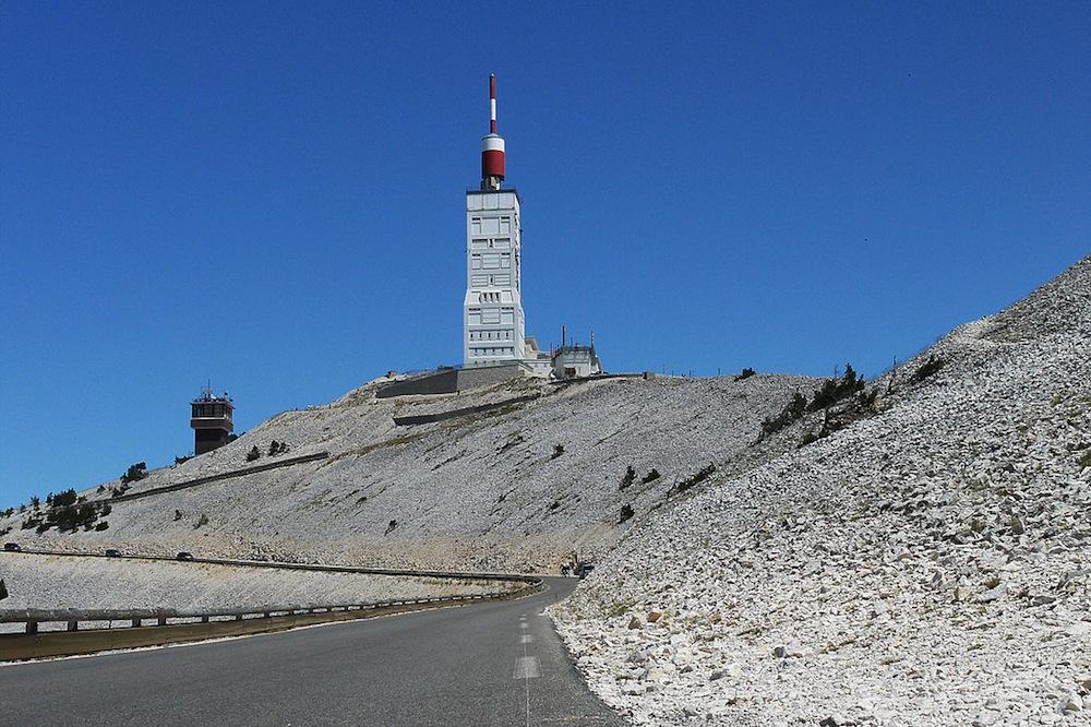 Thumbnail: Mont Ventoux (Credit - Rsuessrb/CC2.0) .