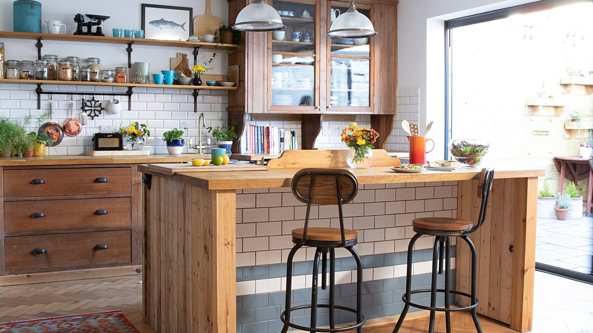 Take a tour of this unique home filled with reclaimed treasures