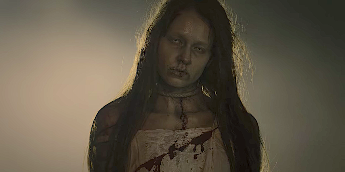 Netflix Haunted Woman in White