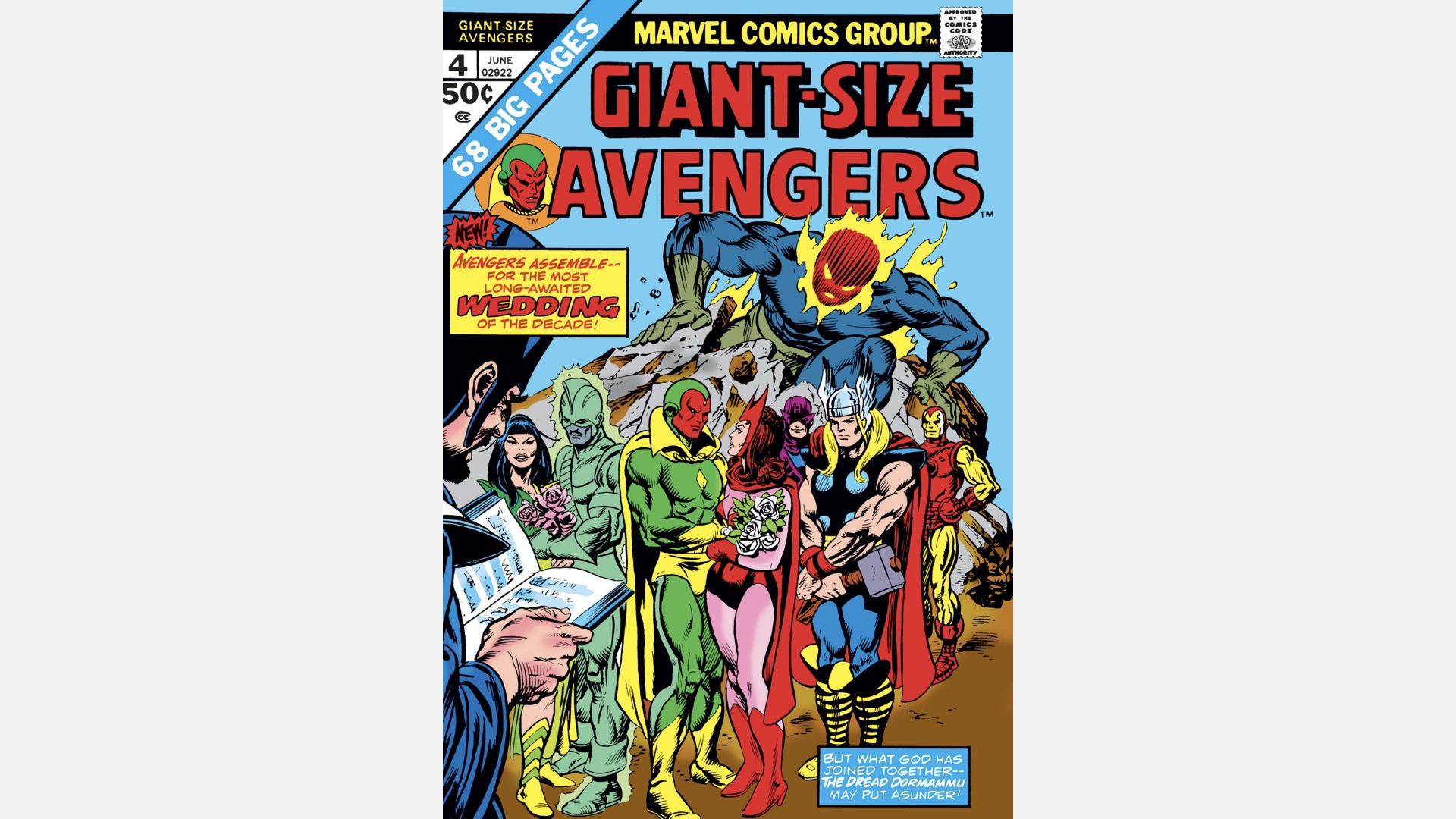 cover of Giant-Size Avengers #4