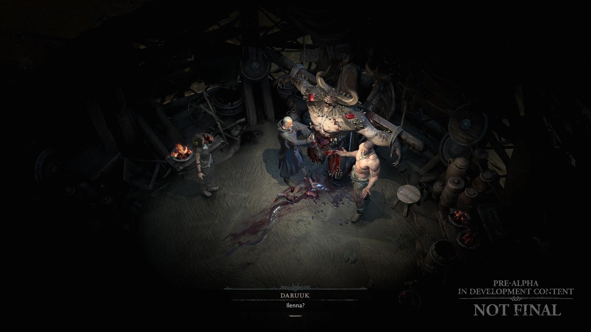 Diablo 4 dialogue