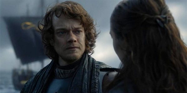 Theon and Yara heart to heart in Game of Thrones Season 8