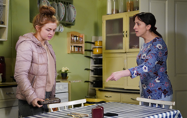 EastEnders Tiffany Butcher and Sonia Fowler