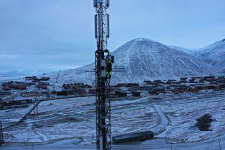 Telenor på Svalbard