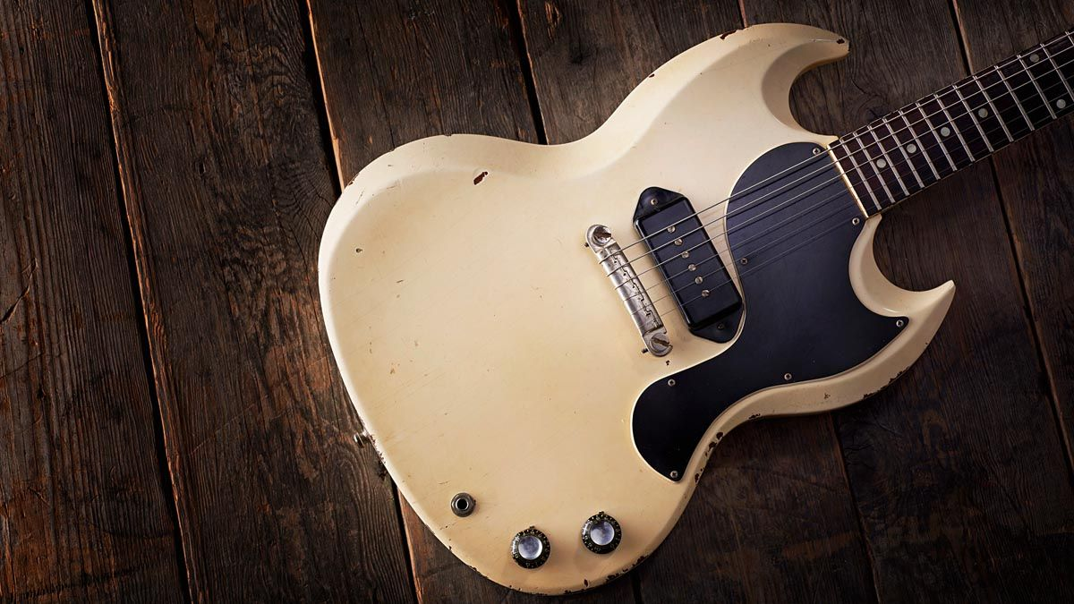 The history of the Gibson SG