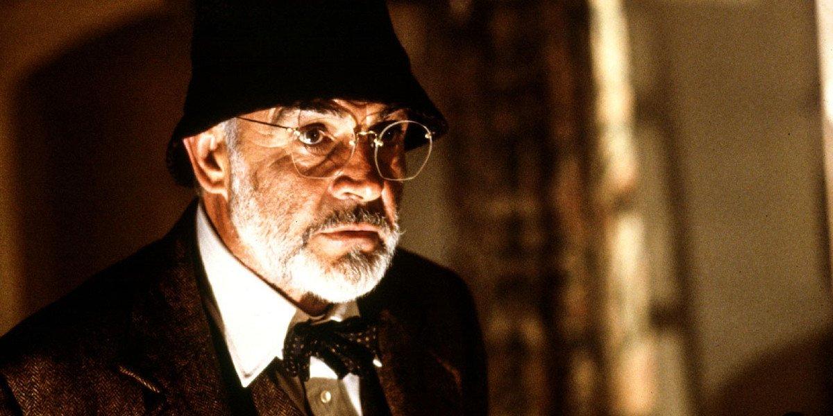 Sean Connery as Henry Jones Jr. in 'Indiana Jones and the Last Crusade'