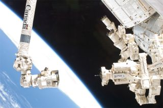 The Dexte robot serves as an orbital mechanic on the International Space Station.