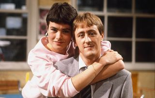 Nicholas Lyndhurst and Janet Dibley in The Two of Us