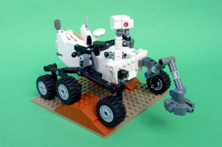 LEGO model of NASA's Mars rover Curiosity