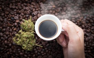 coffee, marijuana
