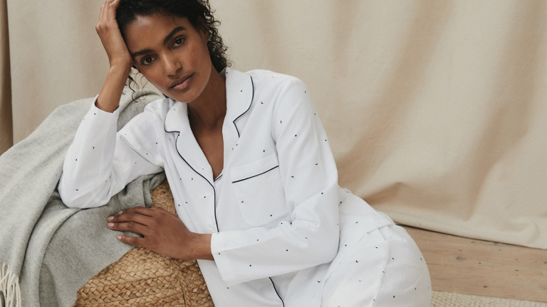 the white company pyjamas