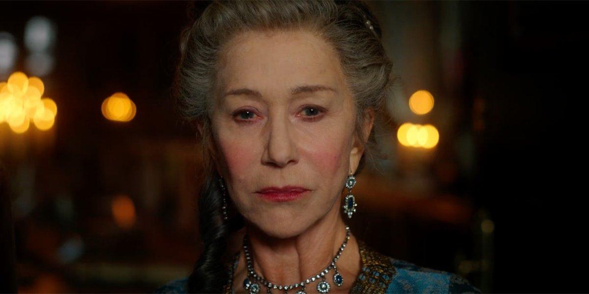 Helen Mirren in Catherine The Great