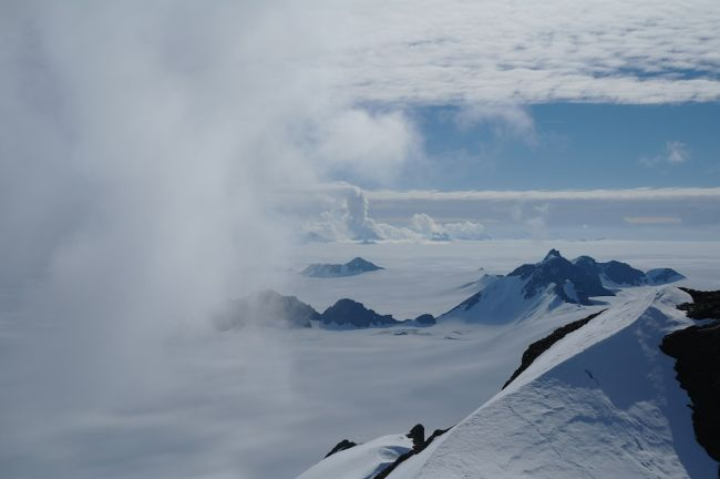 Staccato Peaks on Antarctic Peninsula