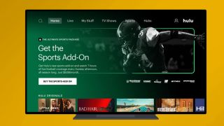 Hulu with Live TV's new Sports add-on package