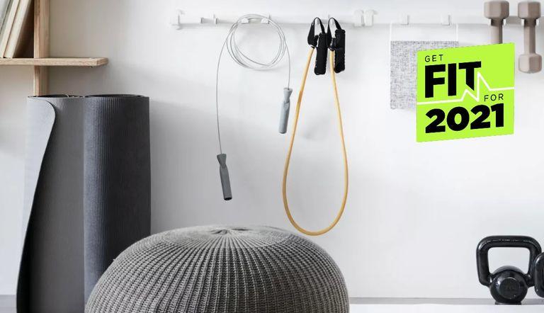 Ikea small gym ideas