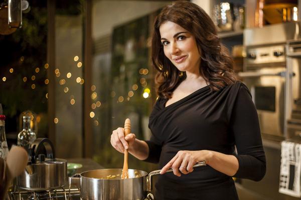 Nigella: 'Italy's my spiritual & gastronomic home'
