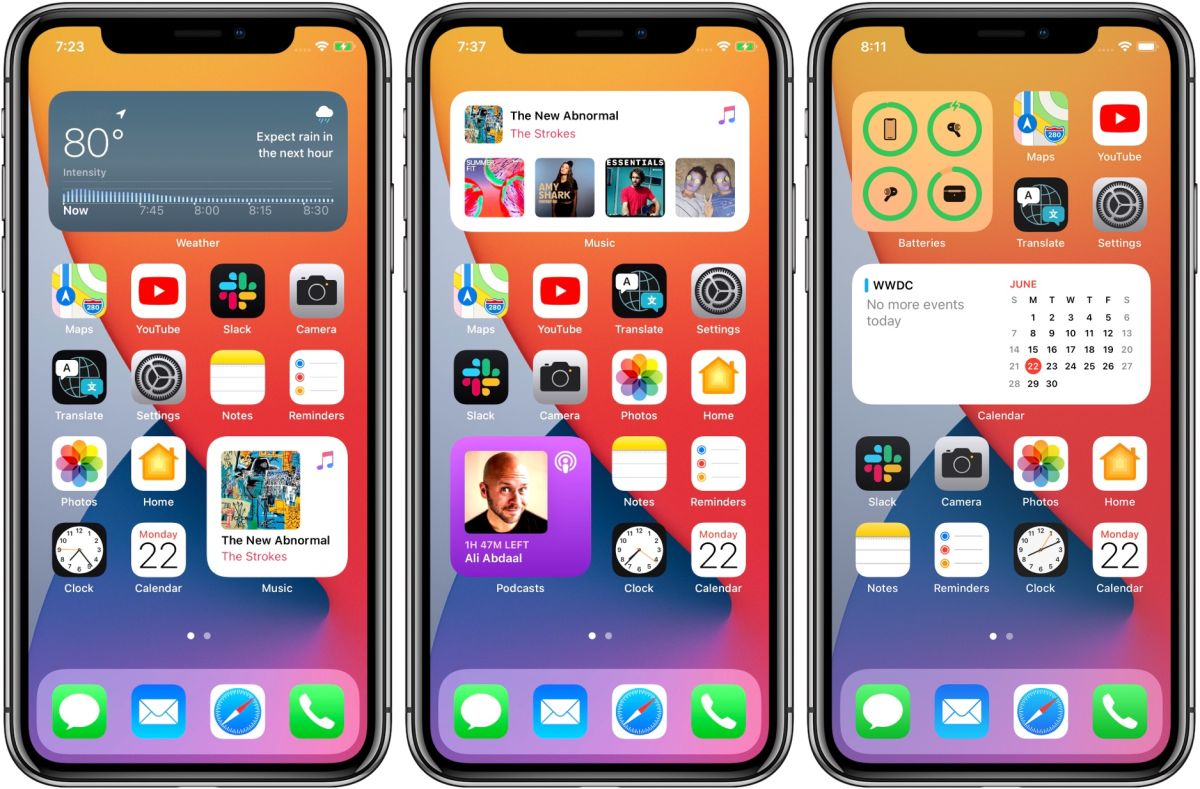 Twitter Roasts Apple S New Ios 14 Home Screen Creative Bloq