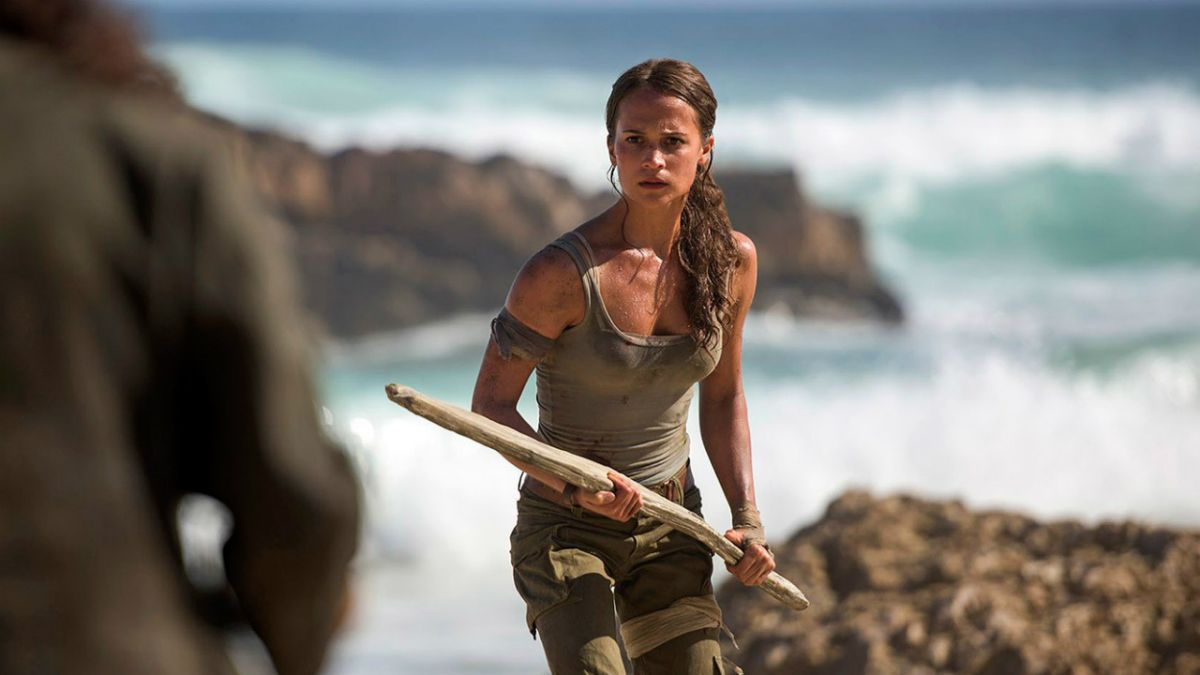 """Tomb Raider review: """"Vikander packs a punch but it's a long way off the Holy Grail"""""""