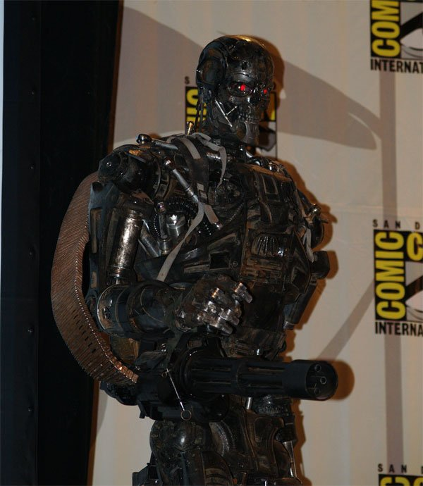 Comic Con In Photos: Terminator Salvation's T-600 #122